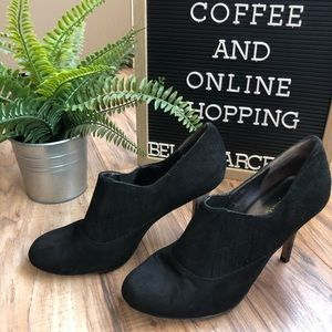 Cole Haan Nike Air Ankle Heels Booties 9B Black